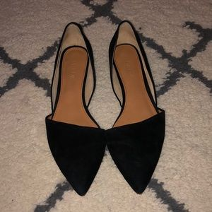 J. Crew Pointed Toe d'Orsay Flat